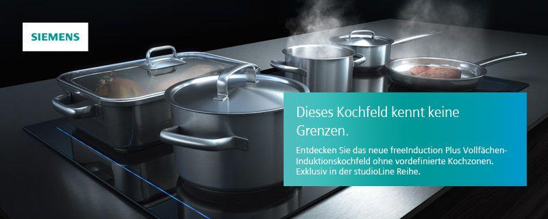 Vollflachen Induktionskochfeld Von Siemens Kuche Kaufen