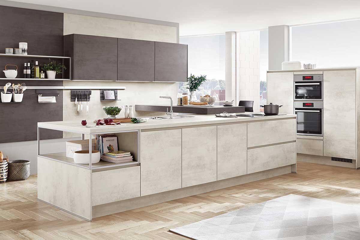 moderne küche - küche kaufen küchenstudio küchenplaner ... - Küchenplaner Online Nolte